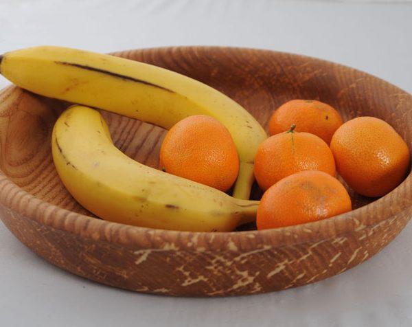 medinė lėkštė